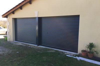 Portes de garage-Portillon